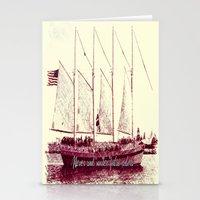 Never sail under false colors Stationery Cards