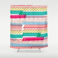 Washi Shower Curtain