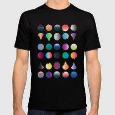 Cirque Mens Fitted Tee Black SMALL