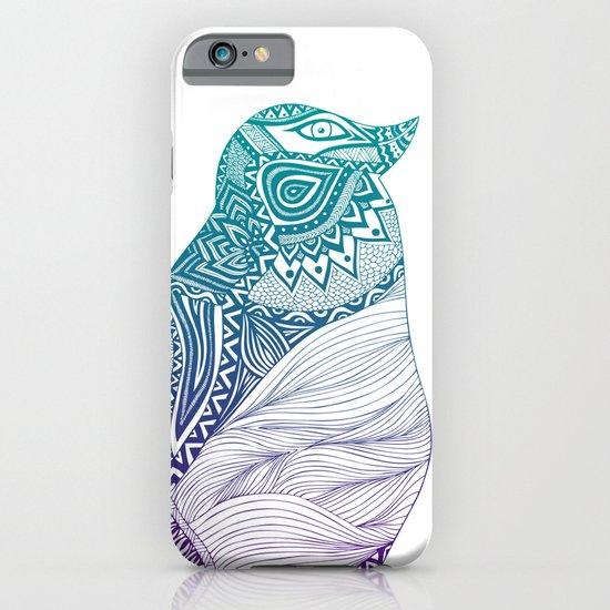 Duotone Penguin iPhone & iPod Case