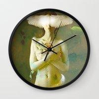 Eve's Temptation Wall Clock