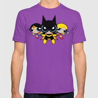 Supertough Girls Mens Fitted Tee Ultraviolet SMALL