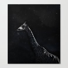 Giraffe Zombie Canvas Print