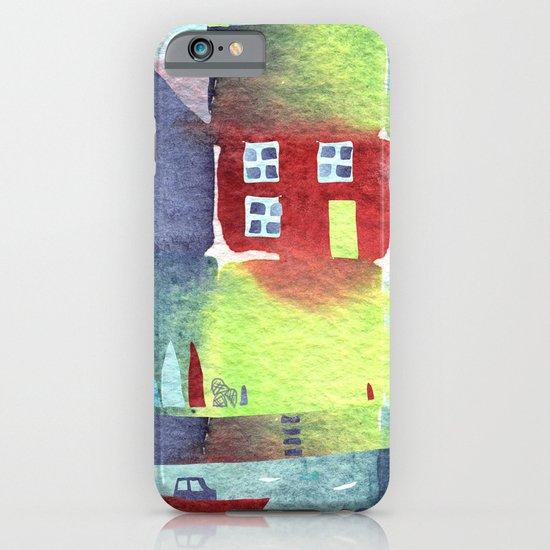 Quiet Harbour iPhone & iPod Case