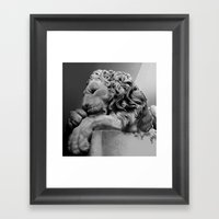Study Of Chatsworth Hous… Framed Art Print