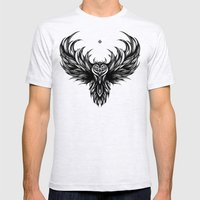 OWL Mens Fitted Tee Ash Grey SMALL