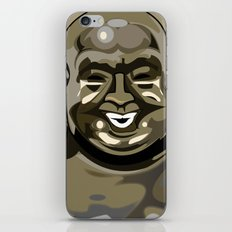 Laughing Buddha II iPhone & iPod Skin