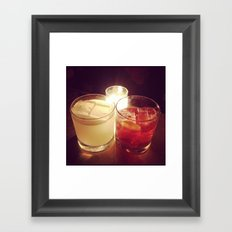 Old Fashioned Framed Art Print