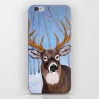 Winter Buck iPhone & iPod Skin