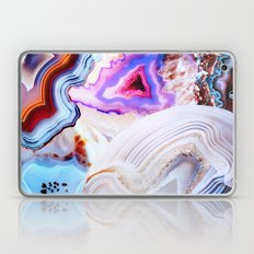 Agate, a vivid Metamorphic rock on Fire Laptop & iPad Skin