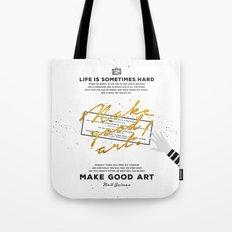 Make Good Art - Neil Gaiman Tote Bag