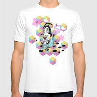 No Training Wheels Requi… Mens Fitted Tee White SMALL