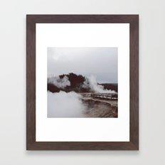 Excelsio Geyser Crater Framed Art Print