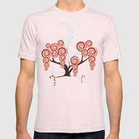 Magic Candy Tree - V3 Mens Fitted Tee Light Pink SMALL