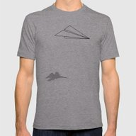 T-shirt featuring Paper Airplane Dreams by Mobii