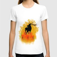 native T-shirts featuring Native by Max Wellsman