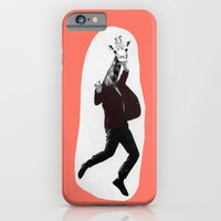 iPhone & iPod Case featuring Giraffe in a Suit by Debbie Porter by eclectiquexx