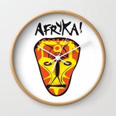 Afryka! Wall Clock