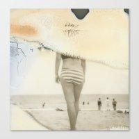 Beach#3 Canvas Print