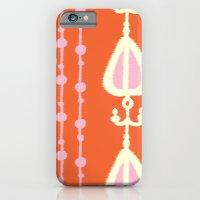 Ikat Heart Stripe iPhone 6 Slim Case