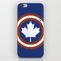 Captain Canada iPhone & iPod Skin