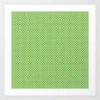 U1: Happy Dots Art Print