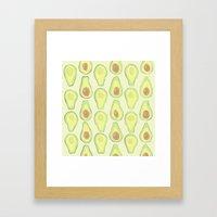 Avocados Framed Art Print