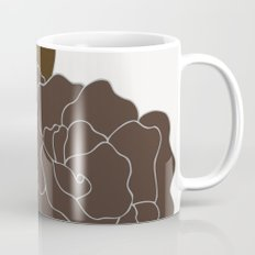 Soft Pastel Floral Print Mug