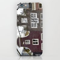 iPhone & iPod Case featuring Amsterdam houses by Marieken