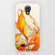 Watercolour Bloom Galaxy S4 Slim Case