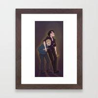 Sherlock | Don't Drink A… Framed Art Print