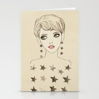 Star Girl Stationery Cards