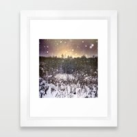 Winter Dream Framed Art Print