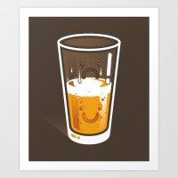 Pessimistic Optimist - A… Art Print