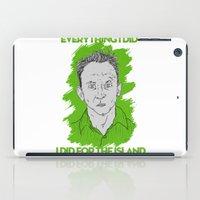 Compulsive Liar, Punching Bag, Anti-Hero:  Benjamin Linus iPad Case