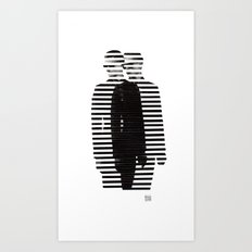 Deconstruction IV (Thin Man) Art Print