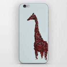 Red Giraffe iPhone & iPod Skin