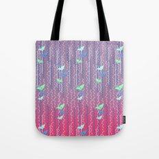 Origami Cranes // Graphic Print Tote Bag