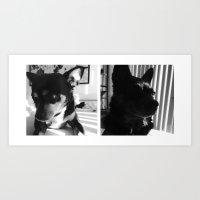 Charlie + Lucie Art Print