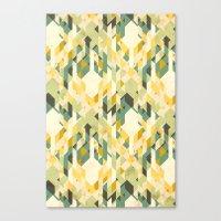 Des-integrated Tartan Pa… Canvas Print