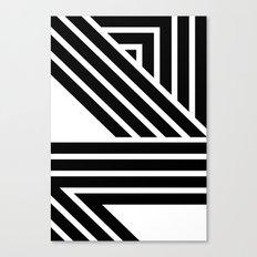 Starlines 02. Canvas Print