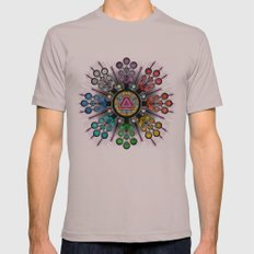 New Beginnings Mens Fitted Tee Cinder SMALL
