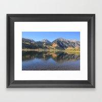 Twin Lakes, CO Framed Art Print