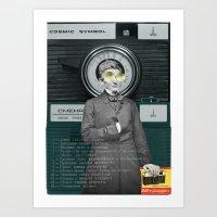 Dr Smena And The Cozmic … Art Print