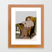 HARMCHAIR Framed Art Print