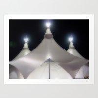Circus Magic Art Print