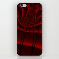 Fractal Lashes iPhone & iPod Skin