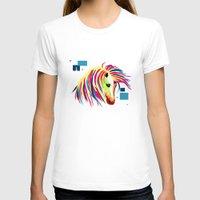 horse T-shirts featuring horse by mark ashkenazi