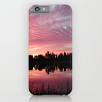 iPhone & iPod Case featuring Lake Sky 3 by Laurkinn12
