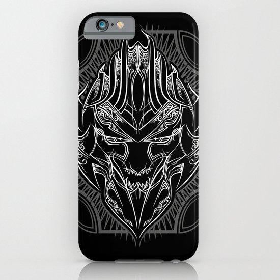 Pinstripe Megatron iPhone & iPod Case